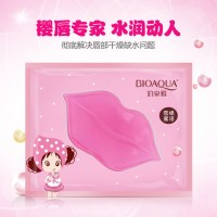 BIOAQUA COLLAGEN LIP MASK GEL / MASKER BIBIR KERING HITAM ETUDE PATCH