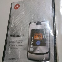 Brand New Moto Indo Motorola RAZR V3i Silver Quartz