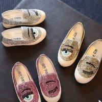sepatu anak / kids shoes chiara ferragni glitter import