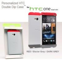 HTC one M7 double dip hard case hardcase (801)
