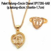 Jual Xuping Yaxiya Meili Paket Kalung Cincin (Anting Gelang Liontin)XP1726G Murah