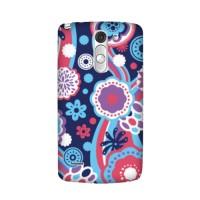 Casing Hp Custom Floral Pattern LG G3 Stylus/G4 Case Handphone