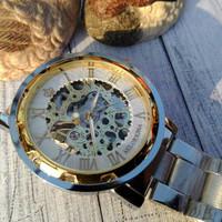 jam tangan pria orkina tanpa batre (tipe tali stainless)