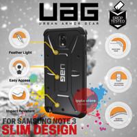 UAG Case Resistant For Samsung Galaxy Note 3 Urban Armor Gear - Black