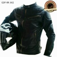 harga jaket pria semi kulit/jaket motor/jaket touring Tokopedia.com