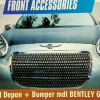 Grill Depan + Bumper model Bentley Nissan March Limited