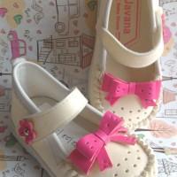 Jual Sepatu Bayi Perempuan Variasi Pita Murah