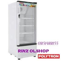 harga SHOWCASE POLYTRON SCN-141/ DISPLAY COOLER/ LEMARI PENDINGIN Tokopedia.com