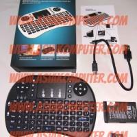 Mini Wireless Keyboard PC MiniPC Smart TV Box Media Player Raspberry