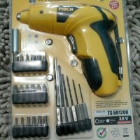 Cordless Screwdriver / Mesin Obeng / Mesin Bor Portable FISCH