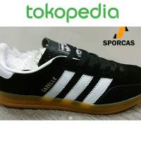 Sepatu Kets Adidas Gazelle Indoor Black Gumsole Hitam Sporcas