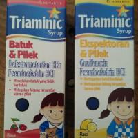 3 botol Triaminic syrup batuk pilek / Ekspetoran @60 ml