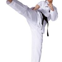 Dobok Taekwondo Kwon Victory Kerah Putih