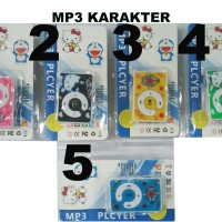 Mp3 Player Jepit Karakter / MP3 Shuffle Mini Jepit Player