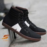 D-Island Shoes Sneakers High Arl New Reborn Comfort Black