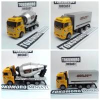 harga miniatur mobil truck pasir molen mixer diecast Tokopedia.com