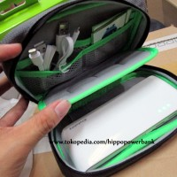 harga Hippo Voyager V01 Mini Travel Bag ( Tas Power Bank Organizer ) Tokopedia.com