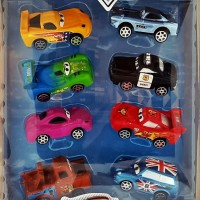 Super Racing Race Isi 8 Mobil Karakter Cars