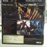 NECA Kratos Ghost Of Sparta Ultimate God Of War NEW MIB Player Select