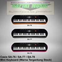 Keyboard Mini Casio SA-76 / SA 76 / SA-77 / SA 77 / SA-78 / SA 78