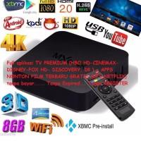 TV BOX Android MXQ-4K, Solusi Nonton TV ONLINE PREMIUM DUNIA