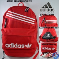 harga Tas Ransel Adidas Samba Red White Tokopedia.com