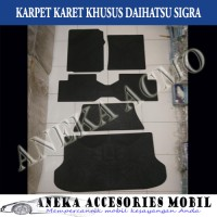 Karpet Karet / Karpet Lantai Khusus Mobil Daihatsu Sigra