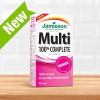 Jual Jamieson Multi 100% Complete Vitamin for women Murah