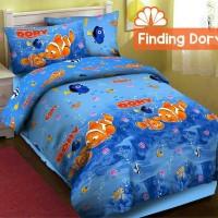 harga Sprei Katun Fortuna Finding Dory Ukuran 120x200 Tokopedia.com