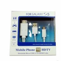 harga Kabel Micro USB TO HDMI SAMSUNG HDTV Mobile Phone to TV HIGH Quality Tokopedia.com