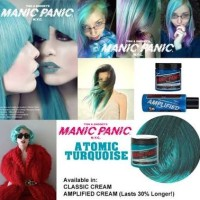Jual Manic Panic Atomic Turquoise CLASSSIC Share in Jar 10ml Ori Murah Murah
