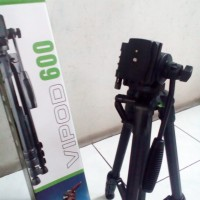 Tripod Excell Vipod 600 Smooth Kamera Video