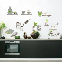 Wallsticker Coffee Shop Kitchen Cafe