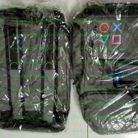 Official PS4 Bagpack / Tas Ransel / Tas Gendong Playstation 4 (ORI)