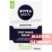 Nivea Men Post Shave Balm Sensitive 100 ml full size Germany Premier