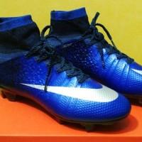 harga sepatu sepak bola nike mercurial superfly fg biru grade ori import Tokopedia.com