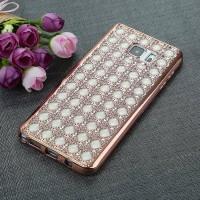 Jual Casing Cover Hp Silicon Samsung S6 S6 Edge S7 S7 Edge Diamond Hole Murah