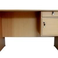 harga Meja Kantor 120x60 1/2 Biro Bukan 1 Biro, Belajar, Laptop, Kerja Tokopedia.com