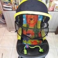 Jual stroller bayi pliko creative classic. pegangan depan belakang Murah