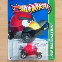 HOT WHEELS RED BIRD ANGRY BIRDS 2012 HW PREMIERE #47/247