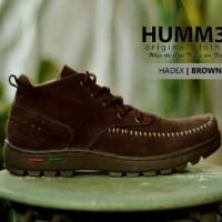 sepatu humer hadex semi boots 3 warna original handmade