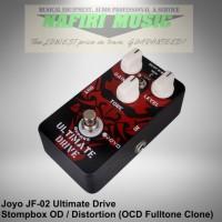 Efek Gitar Joyo JF-02 Ultimate Drive (Fulltone OCD Clone) baru 100%
