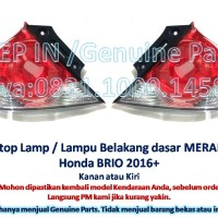 Stop Lamp Lampu Belakang mundur HONDA BRIO 2016 stoplamp MERAH new