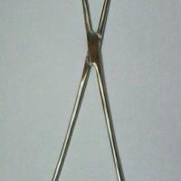 Tenaculum / forcep tena culum / tena kulum / tenakulum 25cm - stenlis