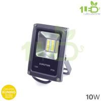 Lampu sorot LED outdoor 10W kuning lampu jalan weatherproof 10Watt 10