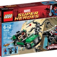 Lego Super Heroes 76004 Spiderman Spider-Cycle Chase