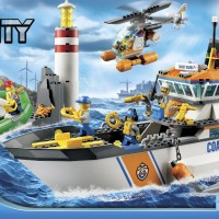 Lego city 60014 Coast Guard Patrol