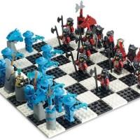 Lego G678 Knights Kingdom Chess Set Catur