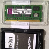 Ram Memory Laptop Kingston DDR3 2GB PC10600 Sodimm