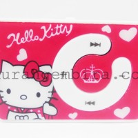 MP3 Mini Player Karakter Hello Kitty - Merah